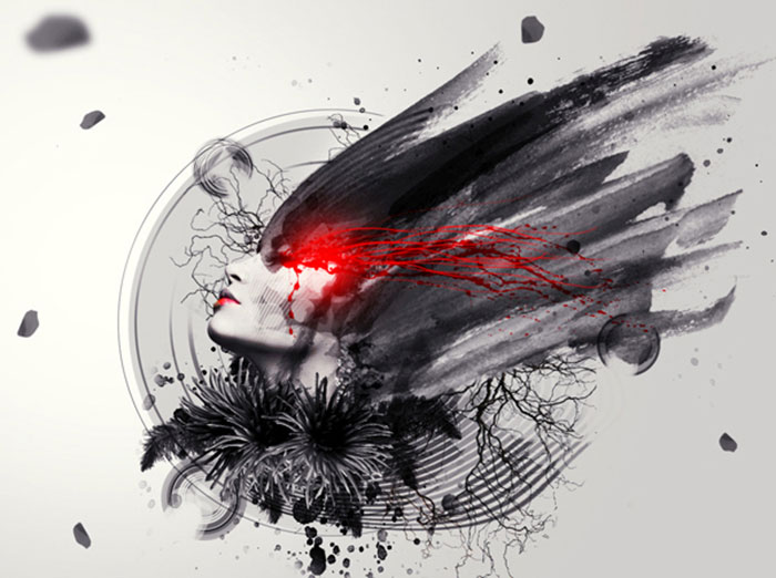 abstract-photo-manipulation-photoshop 91 Photoshop Photo Manipulation Tutorials: Become A Pro