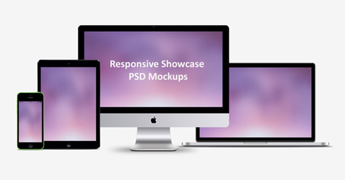psd mockups to present your responsive designs with, Powerpoint templates