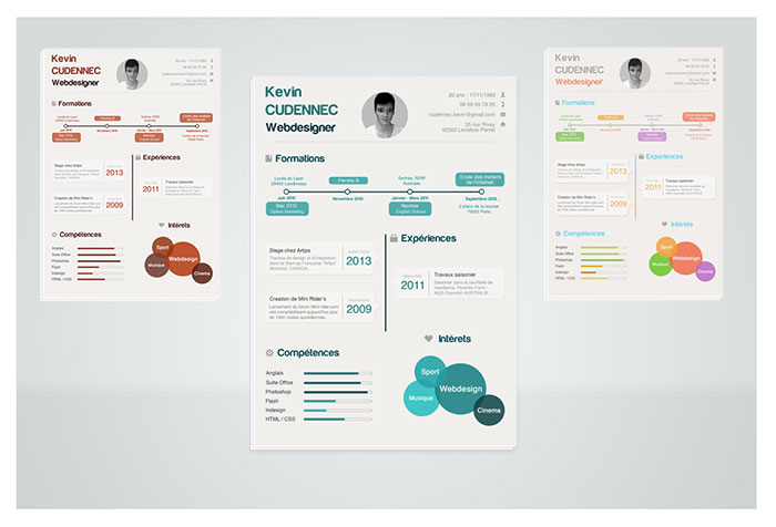 1091421 resume templates that you can download for free - Infographic Resume Templates
