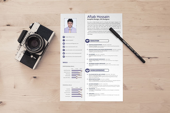 21575779 Resume Templates That You Can Download For Free