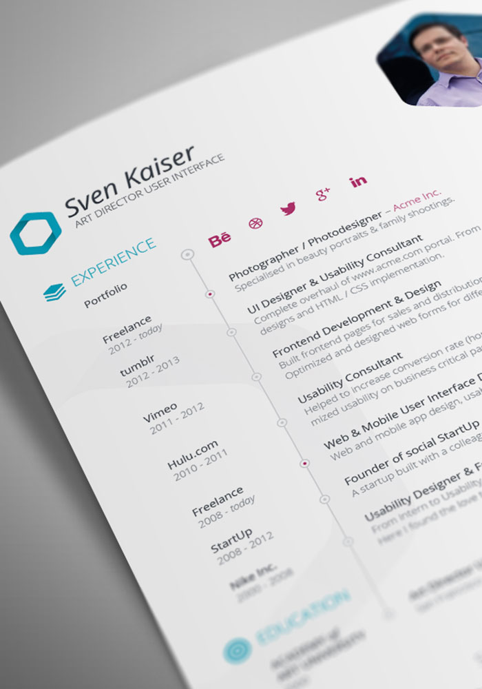 Resume Templates That You Can Download For