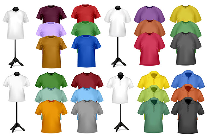 1005 82 FREE T-Shirt Template Options For Photoshop And Illustrator