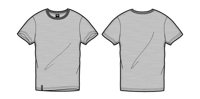 Free TShirt Template Options For Photoshop And Illustrator - Design a shirt template