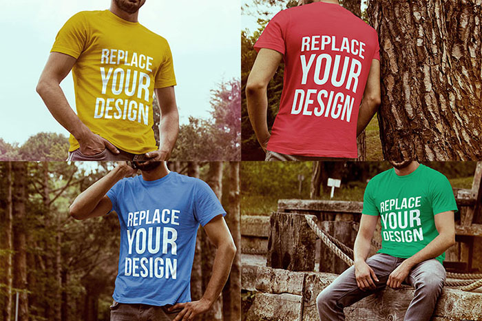 4-free-t-shirt-mock-up-templates 82 FREE T-Shirt Template Options For Photoshop And Illustrator
