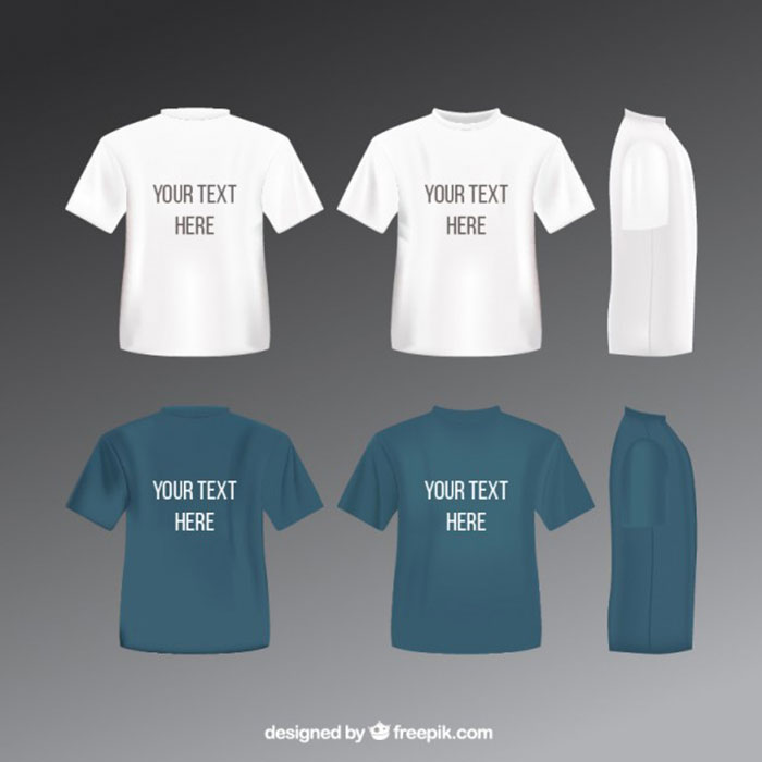 793025 82 FREE T-Shirt Template Options For Photoshop And Illustrator