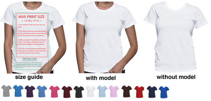 41 Blank T Shirt Vector Templates Free To Download
