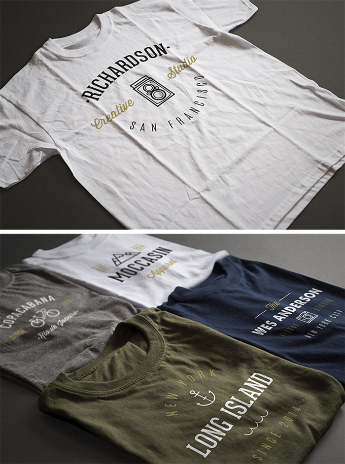 t-shirt-mockups 82 FREE T-Shirt Template Options For Photoshop And Illustrator