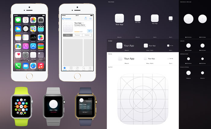 Apple Watch - Don't forget about the screen size you are designing for