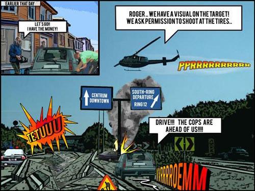 Comic Book Effect Photoshop tutorial