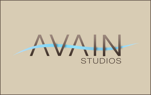 AVIAN Studios Logo Photoshop tutorial