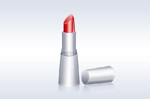 Lipstick Illustration Photoshop tutorial