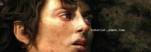Making Frodo Photoshop tutorial