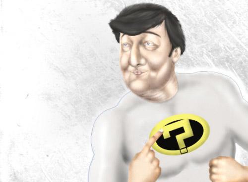 How To Create a Superhero Stephen Fry Photoshop tutorial