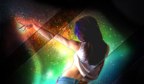 How to Create a Space Girl Photo Manipulation in Photoshop