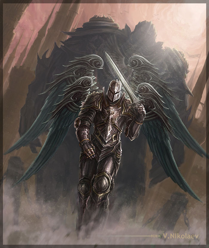 Greatest Angel Knight By Nikt 58 Drawings Illustrations And Sketches