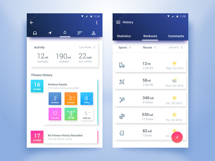 Eye Candy User Interface Design Inspiration