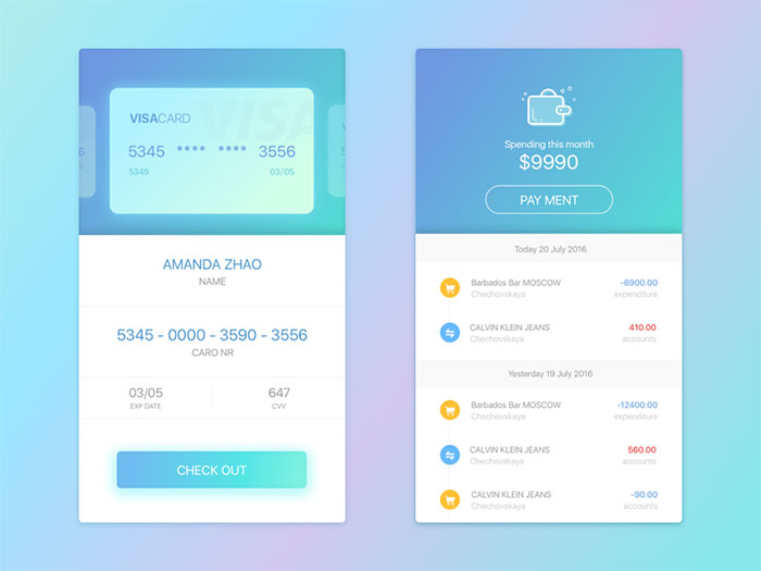 Eye Candy User Interface Design Inspiration