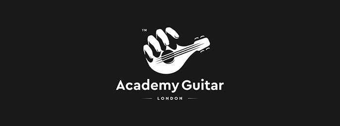 Academy Guitar Best Free Fonts For Logos 72 Modern And Creative Logo