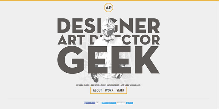 thegeekdesigner com Graphic Designer Websites  31 Creative Examples. Graphic Designer Websites  31 Creative Examples