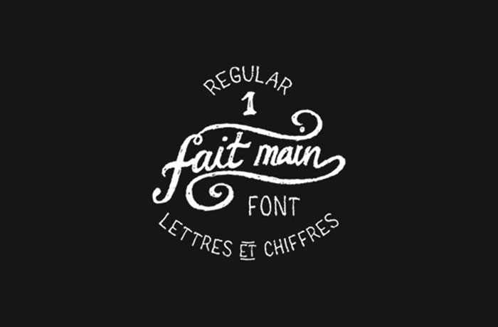 Fait Main 1 Free Font Handwriting Fonts To Download 57