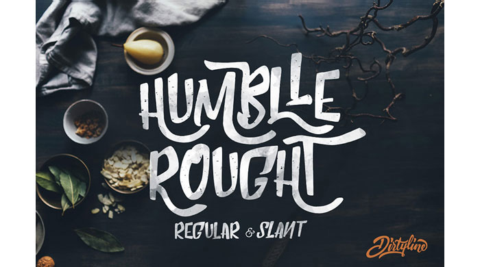 Humblle Rought Free Font Cool Fonts 100 And Unique To