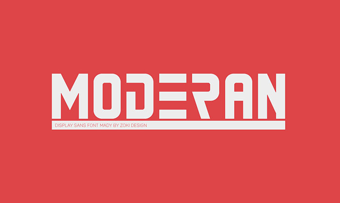 Moderan Font Cool Fonts 100 Free And Unique To Download