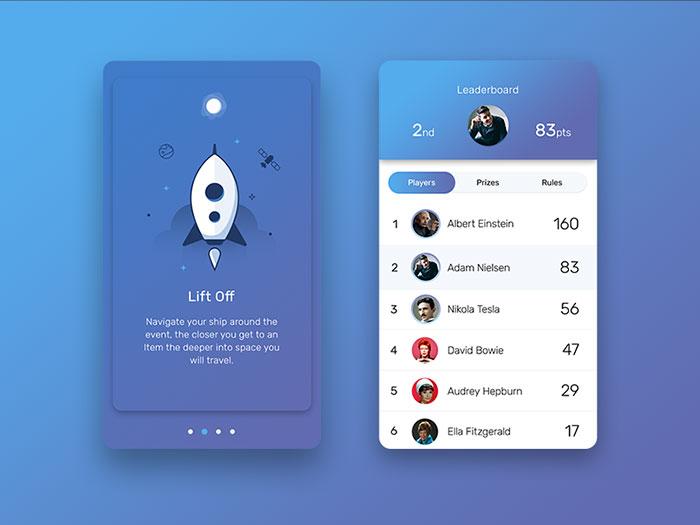 User Interface Design Inspiration - 40 UI Design Examples