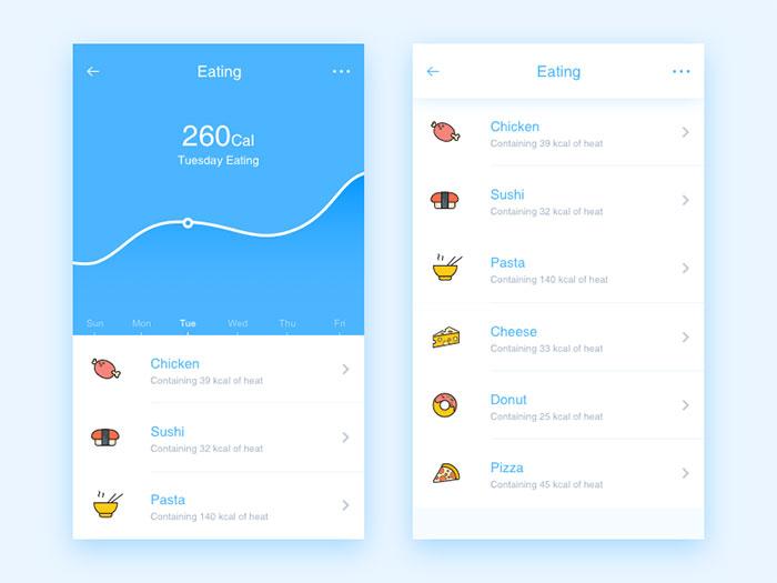 User Interface Design Inspiration - 54 UI Design Examples