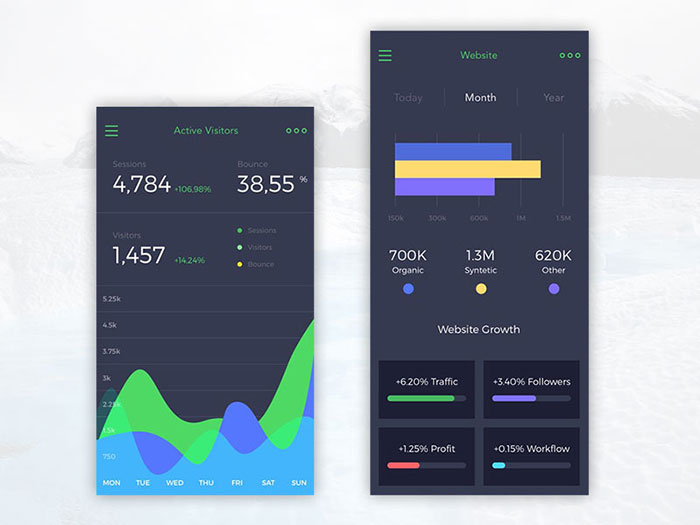 Mobile ui design inspiration charts and graphs 2660749 mobile ui design inspiration charts and graphs ccuart Gallery