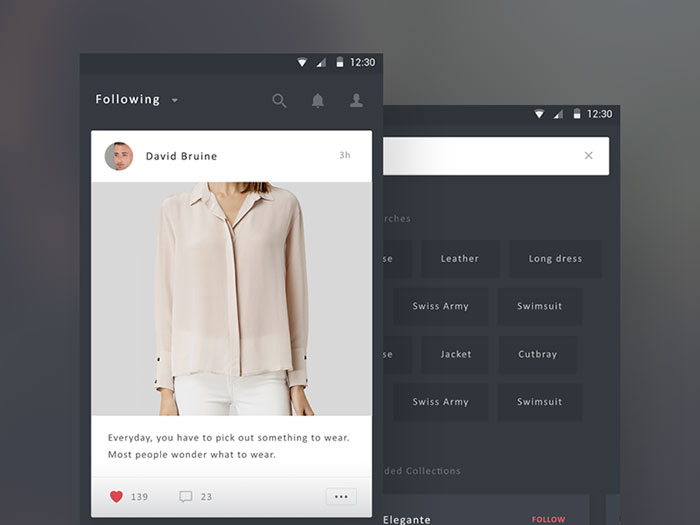 Genial 2407059 Search In Mobile User Interfaces: 42 Search Bar Design Examples