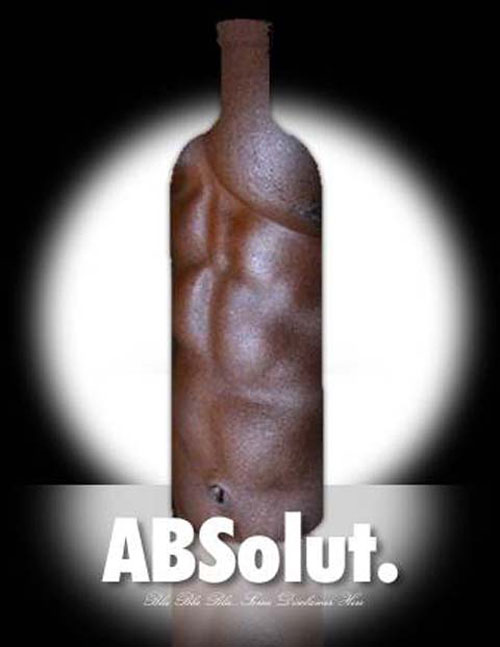 Absolut Vodka Print Advertisement 4