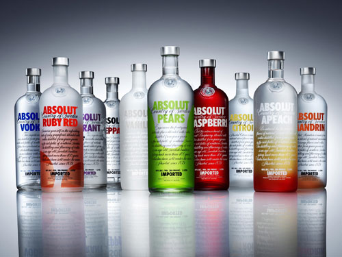 Absolut Vodka Print Advertisement