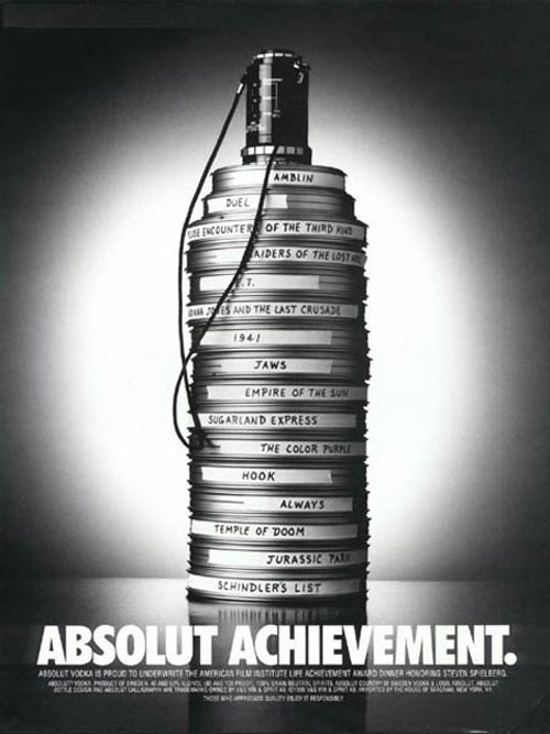 Absolut Vodka Print Advertisement 6