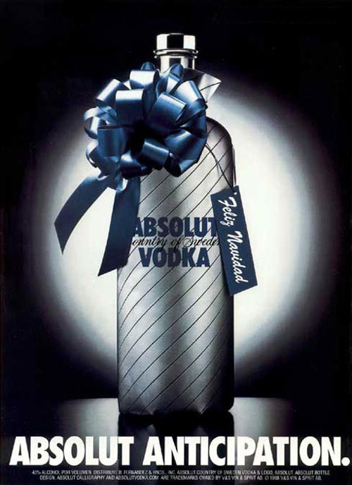 Absolut Vodka Print Advertisement 15