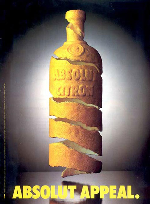Absolut Vodka Print Advertisement 17