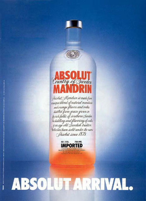 Absolut Vodka Print Advertisement 20