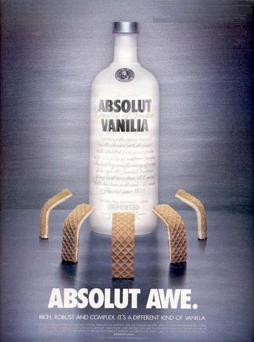 Absolut Vodka Print Advertisement 24