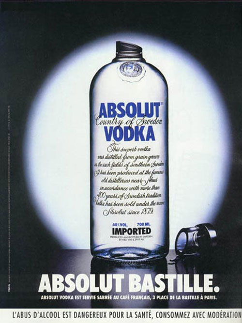 Absolut Vodka Print Advertisement 25