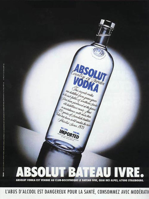 Absolut Vodka Print Advertisement 26