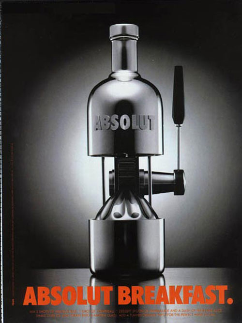 Absolut Vodka Print Advertisement 31