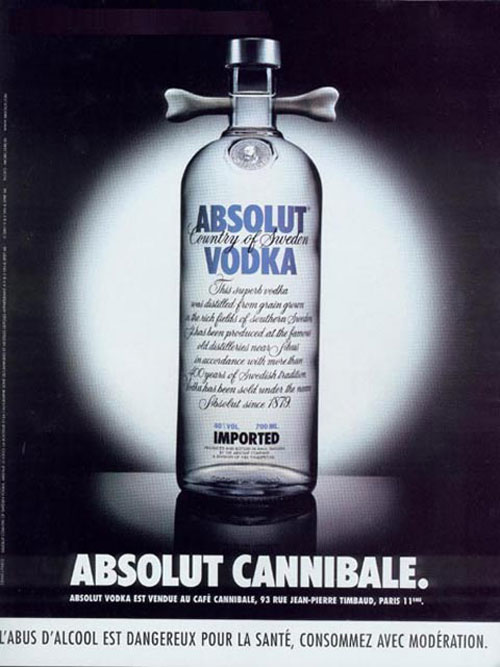 Absolut Vodka Print Advertisement 33
