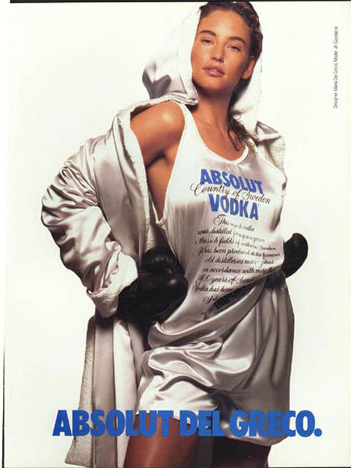 Absolut Vodka Print Advertisement 35