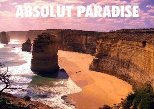 Absolut Vodka Print Advertisement 49