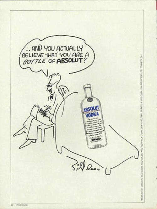 Absolut Vodka Print Advertisement 51