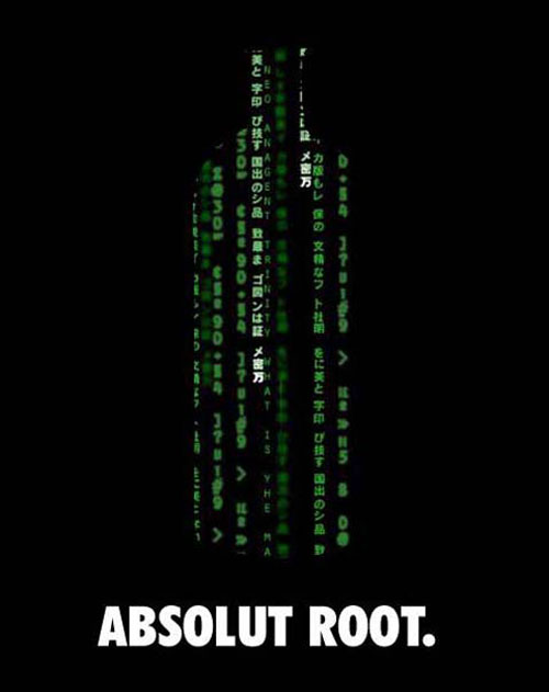 Absolut Vodka Print Advertisement 53