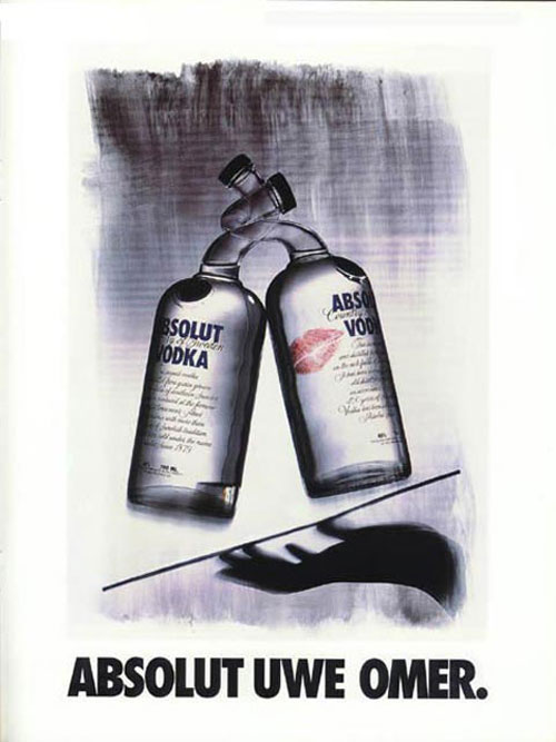 Absolut Vodka Print Advertisement 56