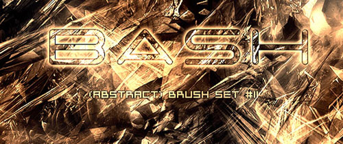 Abstract Brush Set 11
