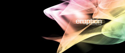 Eruption Brushes – Abstract