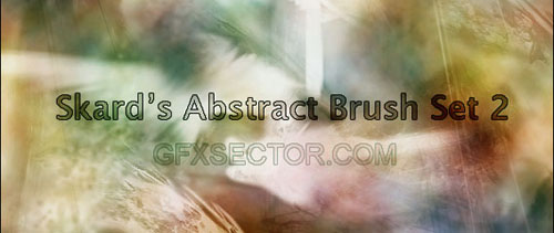 Skard's Abstract Brushes Set 2