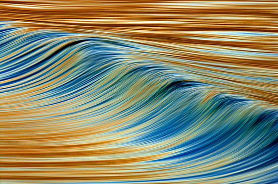 Abstract Wave Abstract Photography